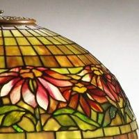 Tiffany stained glass from The Neustadt Collection