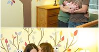 Precious!! Two mommies and a baby. <3 San Jose Newborn Lifestyle Photography