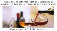 All minerals essential to human life are in wine humor #funny #humor #lol #meme #PMSLweb