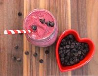 Chocolate Cherry Smoothie from The Pioneer Woman