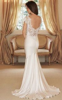 definitely going to have this wedding dress <3