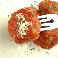 """Chef John's Italian Meatballs """"Homemade meatballs are a very easy to make, and since we skip the very messy step of pan-frying these before they hit the sauce, it becomes downright simple. Here I use a standard half-beef/half-pork mixture. You ca..."""