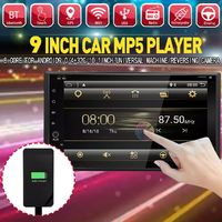 9 Inch 2 DIN for Android 9.0 Car MP5 Player PX6 8 Core Touch Screen bluetooth Radio GPS Reverse Carema