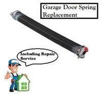 Garage Door Spring Replacement - Residential $165.00