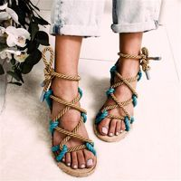 Special Boho Sandals Lace Up Gladiator Chill $27.00