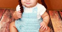 I WANT THIS FOR MY FUTURE DAUGHTER!!! OMG Dorothy from the Wizard of Oz Crocheted Baby Costume by JessiOSAAT, $25.00