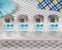 """Little Man"" Personalized Pad-Printing Mason Jar (Set of 12)"