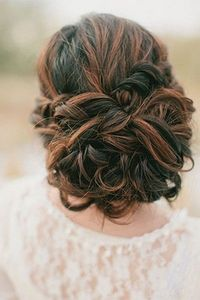 knotted wedding updo Photo Credit: Ciara Richardson Photography Hair and Makeup by Steph