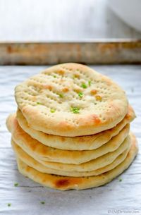 Oven Baked Naan By Chef de Home