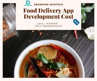 Food Delivery App Development Cost  Are you thinking about your online food delivery business services and food related business, then Deorwine Infotech is only for you, we offer all services like online food order app solution, food app development, on...