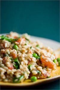 It's amazing how close you can get to the flavor of a Venetian seafood risotto using ingredients in your pantry.