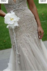 J'aton couture... love the bouquet!