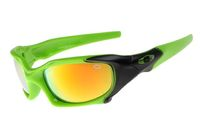 Cheap Knockoff Oakley Pit Boss Green Frame Yellow Lens Sunglasses