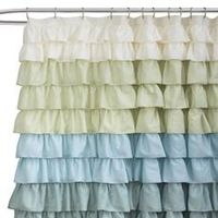 Ruffle Multi Shower Curtain Bed Bath and Beyond