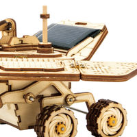 3D Wooden Puzzle,Space Hunting DIY Model,Solar Energy Powered Toy, Educational Toys,Birthday Gift $47.80