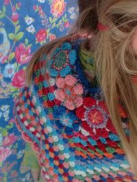 gorgeous poncho - by haken en meer