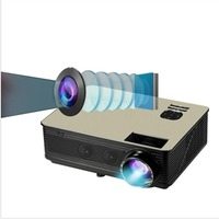 M5W Android 6.0 Wifi Projector 1G+8G LCD LED Projector HDMI*2 VGA AV YPBPR USB*2 AUDIO IN TV