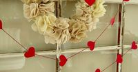 I love seasonal home decor that's quick and easy to create and my vintage window for Valentine's Day was a cinch to decorate and inexpensive too.