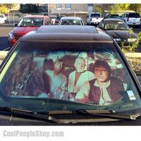 """$21.99 Star Wars Car Sunshade 