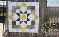 "I like the color setting-it gives this quilt a bit of a different focus. Moda Love Quilt �€"" Finished At Last! 