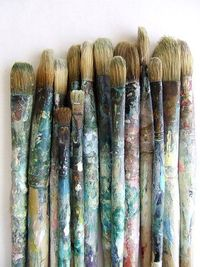 Sometimes I thing we are these paint brushes that have the potential to paint or create something beautiful in us and in others. Paint in perfection or try and try too, each stroke and time that we take to make something will become an artwork till all ou...