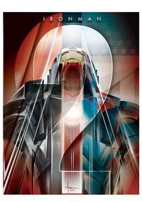 IRONMAN 2 VECTOR TRIBUTE by Orlando Arocena, via Behance