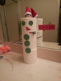 Elf on the Shelf idea....