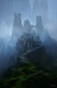 Citadel Rivad, impregnable Fortress Headquarters of the City Watchmen of Lankhmar
