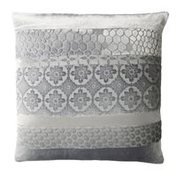 Silver Gray Velvet Patchwork Pillows by Kevin O'Brien Studio $125.00