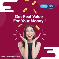 At CashbackJazz, we provide our customers with real value for their money. #InstantCashback #GetCashback #Deals Visit our website to learn more: https://bit.ly/31HzocW