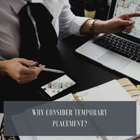 Temporary Placement means providing services base on a time frame on contract service not more than 90 days in the service.