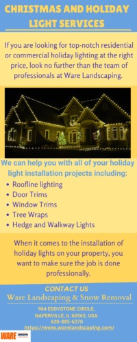 CHRISTMAS AND HOLIDAY LIGHT SERVICES