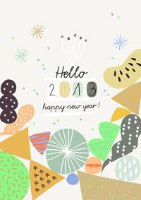 Happy New Year 2013! Ma+Chr for L'Affiche Moderne