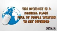 The internet is a magical place funny quote