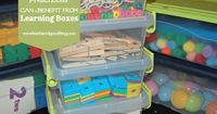 Preschoolers can benefit from playing with learning boxes. With a list of learning boxes ideas, your preschooler can learn many skills while playing.