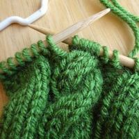 Learn how to easily make cables in your knitting with this easy to follow tutorial.