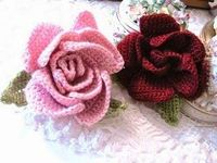 Beautiful crochet flower: free pattern