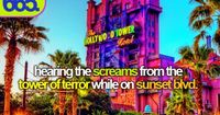 I hate riding that ride but I love hearing people on it. I'm a sick sick person. appariently.