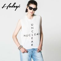 2017 summer new style fashion leisure letter printing simple loose women t shirt - Bonny YZOZO Boutique Store