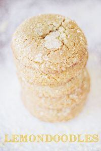 Lemondoodles, a delicious lemony variation of the classic snickerdoodle cookie.