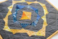 love this mini quilt from the pattern in Quilting Modern!