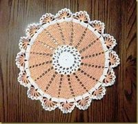 16-Spoke Doily | AllFreeCrochet.com