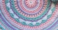 You will love our post that includes a lovely DIY Crochet Mandala Rug. You will find lots of artistic crochet mandala rugs and free patterns too.