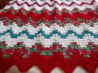 Ravelry: Lesianne's Yarn - Contemporary Granny Ripple Throw