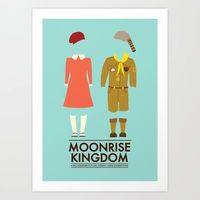 Moonrise Kingdom Poster Art Print by Girlviolence - $20.00