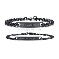His and Hers Promise Bracelets Gift Set https://www.gullei.com/his-and-hers-promise-bracelets-gift-set.html