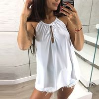Womens Cami Cut Out Tanks Tops Spaghetti Strap Keyhole Front Sleeveless Shirt $19.99 Women's Wholesale Fashion Outlet NOW SHIPPING WORLD WIDE !!! Download our mobile app @ http://mobincube.mobi/5HHP29