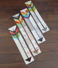 Beautiful little arrows (with a tutorial!) by Carla of Grace and Favour.