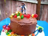 An easy and simple Pirates of the Caribbean cake that anyone could make.