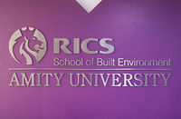 RICS has collaborated with Amity University to launch India's first school of built environment for specialized degree courses in real estate, construction and infra.
